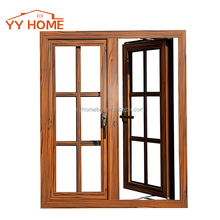YY Home thermal break double glazing soundproof used aluminum casement windows