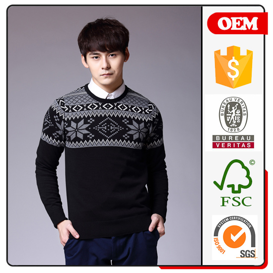 Jinpeng sweaters for men full sleeve holiday christmas pullover