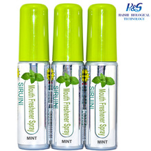 OEM mini cool mint breath spray and mouth freshener with Low MOQ