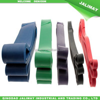 Natural latex resistance loop rubber bands