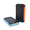 2016 Hot selling CE RoHS 2600mah Waterproof Universal solar Power Bank mobile solar charger