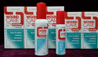 Lijian patent wound care nursing sprays for Scabies mite dermatitis, rove insect dermatitis, lice, claw or bite
