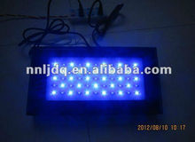 Dimmable Marine 120W Bridgelux Led aquarium Light Fixture 3W Chip blue &white for coral reef