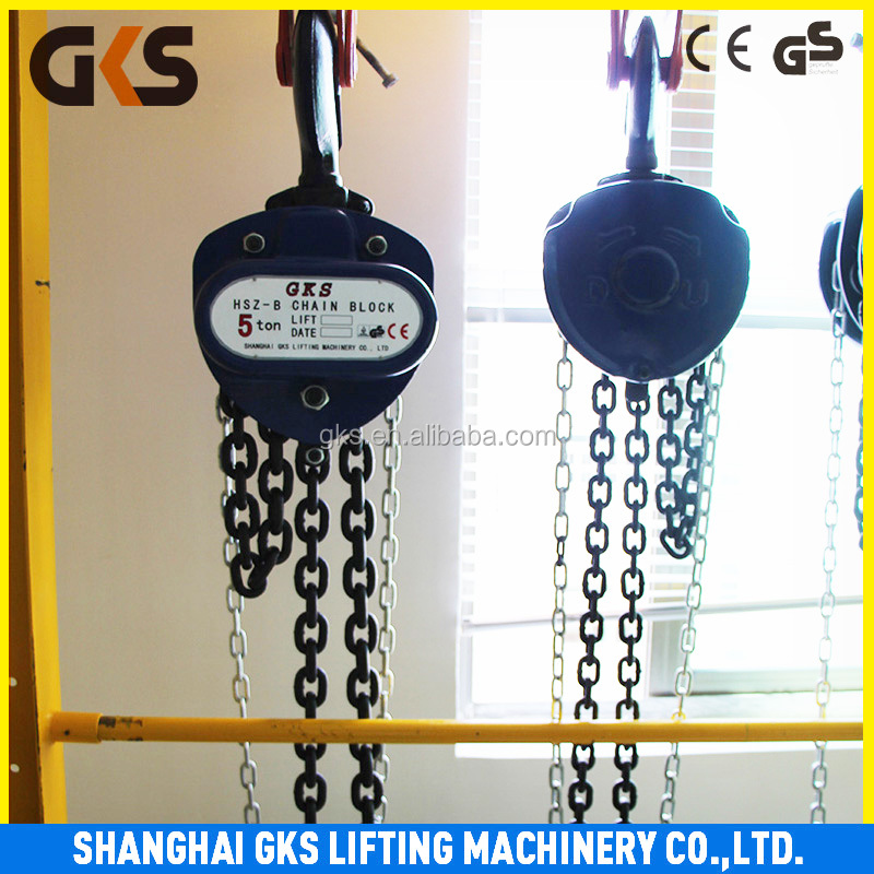 hand pulling chain block manual hoist cable