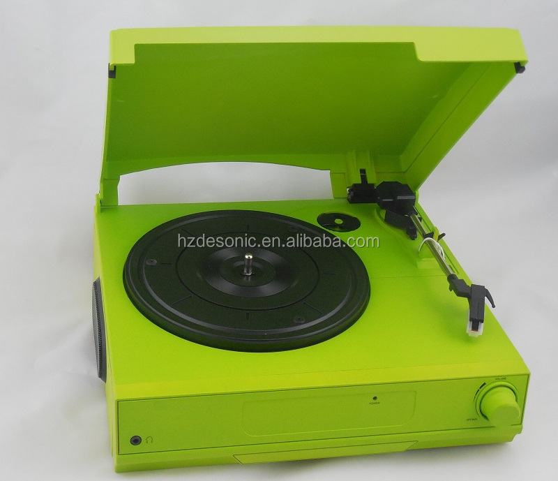 Mini vinyl record machine/vinyl player pressing with pc link