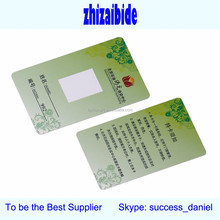 Christmas Gift Magnetic strip Loyalty Barcode QR Code Silk Offset printing pvc plastic card