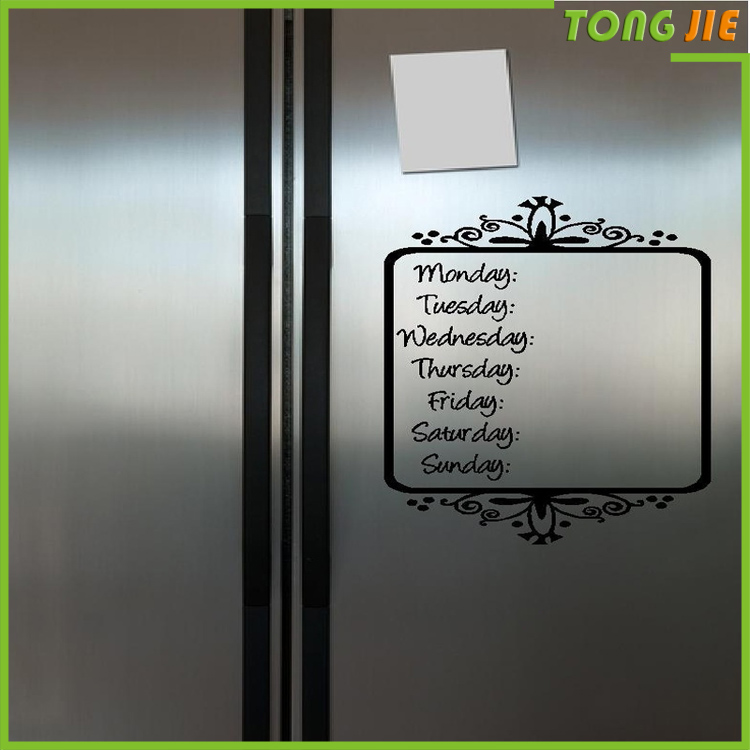 Lovely Schedule Fridge Magnet magnetic board for kitchen