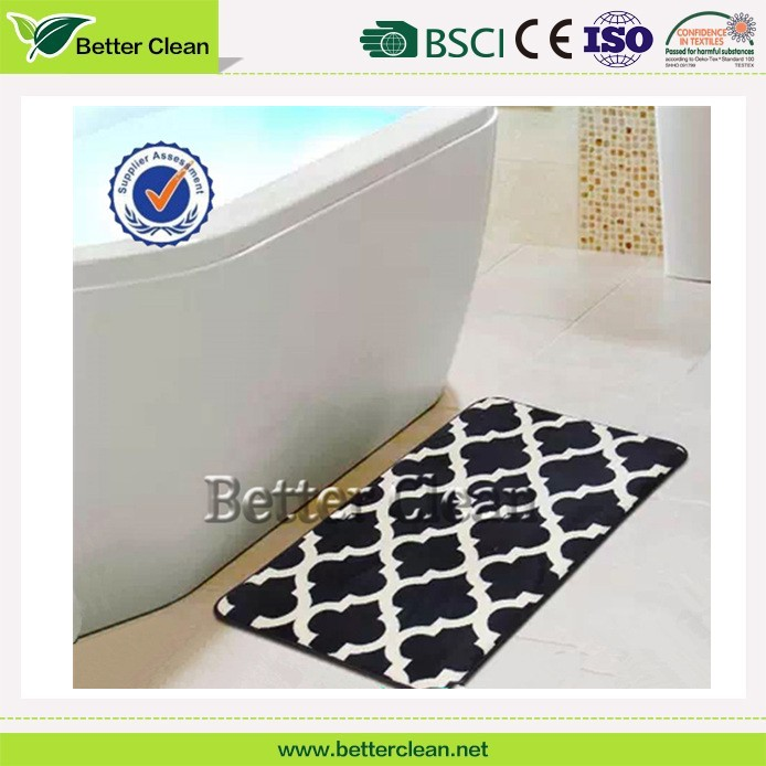 Printed factory wholesales directly with memory foam washroom floor mats