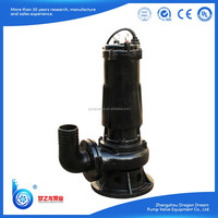 Professional manufacturer best quality in China mine engineering used non-clog sewage submersible pump