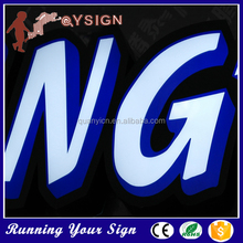 Optional high brightness Acrylic words led lighting alphabet