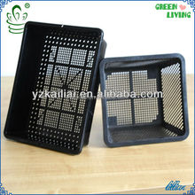new product for 2014 Hydroponics Plastic Net Pots square flowerpot oria