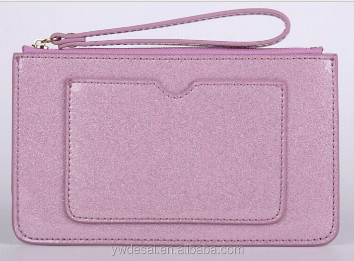 Latest design cheap ladies zipper purse