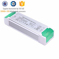 IP20 80W led driver 0-10V dimmable PWM 32-54V DC 1500ma 2700mA 3400mA with TUV CE SAA for led lighting