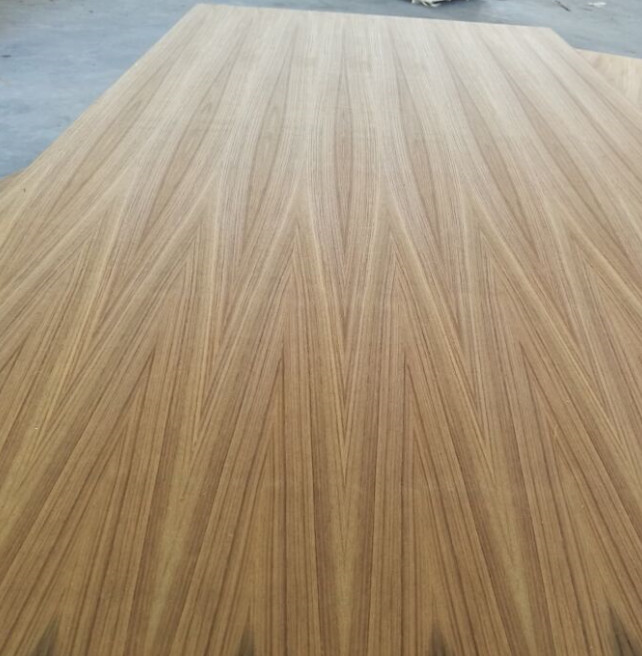 Nature teak veneer MDF for Ethiopia size 1220*2440*6mm