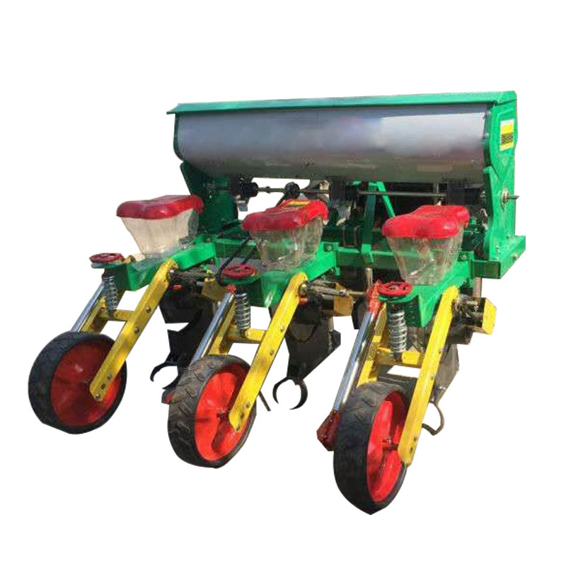 5 rows maize seed drill seed planter
