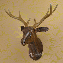 89 New Designs High Quality Deer Head Ornament Home Decor (Customized Service)