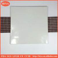 different size square flat bottom ceramic cheese board,porcelain square dinner plate hotel and restaurant ceramic plate