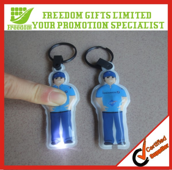 Flashlight Printed Gift Away Led Torch Keyring