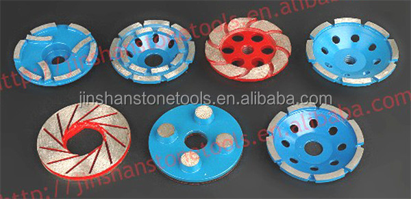 JS 20# Dry Concrete Trapezoid Grinding Pads