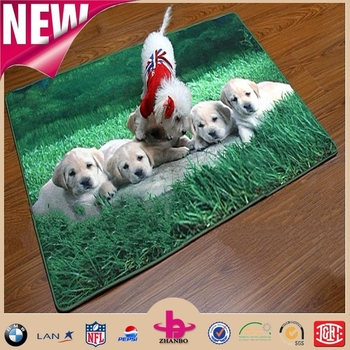 Super Clear Digital Print Fleece Waterproof Picnic Blanket