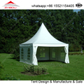 China Custom white color 5x5m Outdoor event tent for sale
