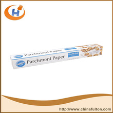 china supplies siliconised baking paper roll for baking,cooking,steaming and roasting AF BP01