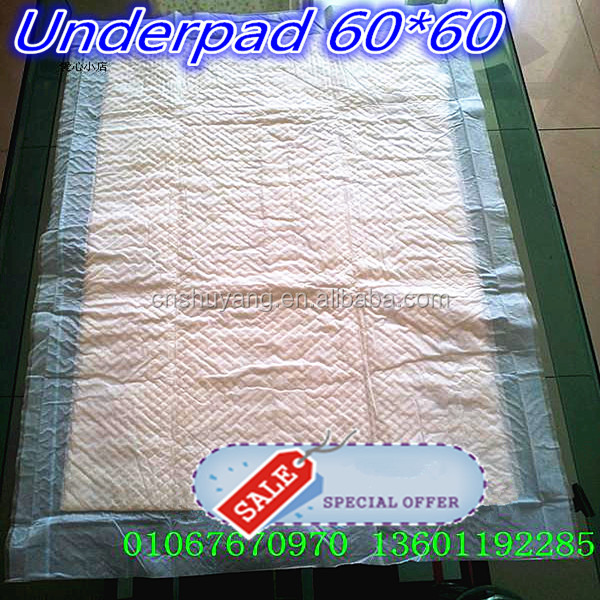 Hospital Disposable Underpad Manufacturer, Incontinence Bed Pad, Disposable Medical Underpad