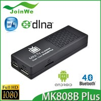 usb dvb-t2 full hd 1080p dongle android tv dongle 4,MK808B Plus box dongle stick