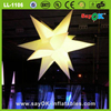 giant 5 colors inflatable star shape balloon ceiling decoration