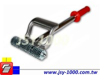JSY-105 Heavy Duty Spike wheel Tile Floor Carpet Seam Roller
