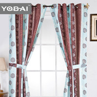 Excellent Quality Cheap Price Elegant Pattern Chinese Style Print Curtain