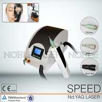 New Q-switch Nd yag Laser Eyebrow Tattoo Freckle Removal Machine For 1064nm/532nm