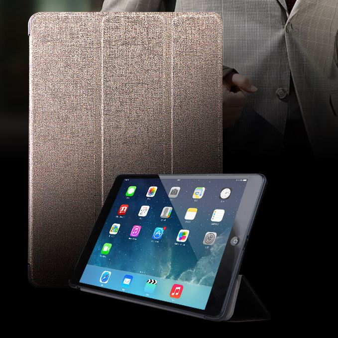 Leather Case For iPad Air Smart Case Cover Ultra Slim flip Cases For Apple iPad 5