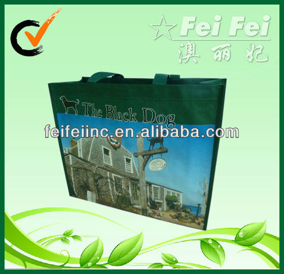Customized Reusable Promotional PP Nonwoven Laminated Shopping Bag