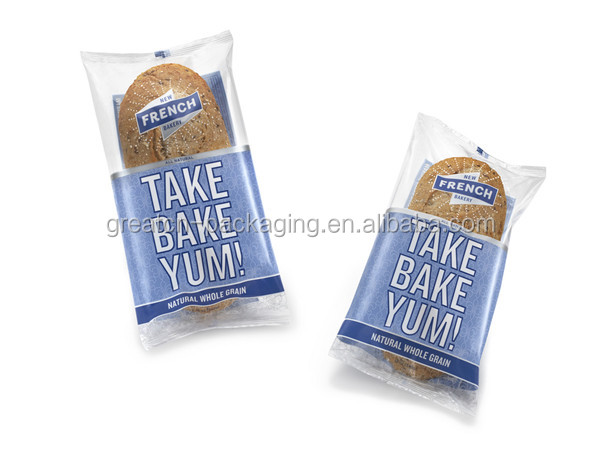 pillow case plastic packaging for bread