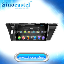 1Din 10.1''Android car dvd player for Toyota corolla 2014 with Android 5.1.1 system