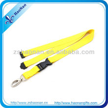 2013 high quality cheap polyester plain lanyards