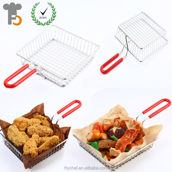 Rohs,FDA,LFGB Certification Dishes & Plates Dinnerware Type Chip Fryer Basket F0156