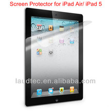 Anti Glare Screen Protector for iPad 5/ iPad Air Screen Film,New Clear Tablet Screen Protector Guard for iPad 5