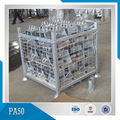 Hot Dipped Galvanized Transport Wire Mesh Metal Pallet Cage