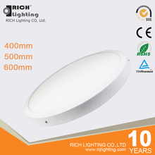 500mm/600mm 36W /42W Round Led Surface Mounted Ceiling Panel Light