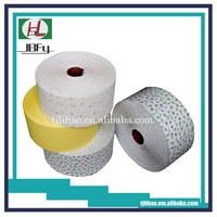 Printed shrink PE backsheet film for sanitary pad