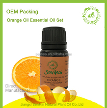 Factory hot sale Orange essential oil gift box packing