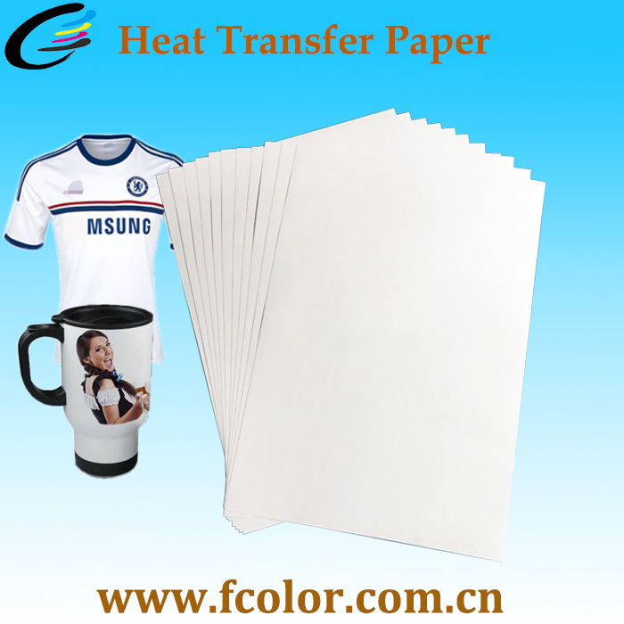 Inkjet Heat Transfer Sublimation Paper for Cotton fabric T Shirt Printing