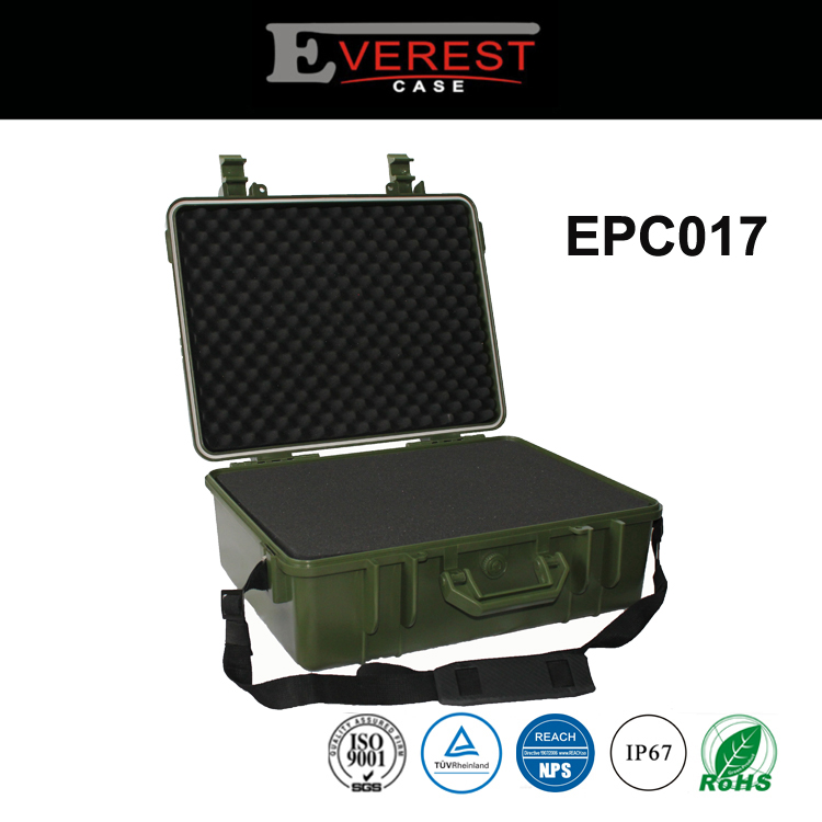 Hard Plastic Instrument Plastic Waterproof Gun Case