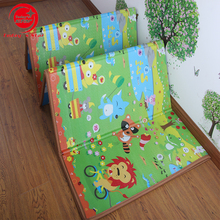 Wholesales floor playmates smellless and eco-friendly baby folding mat