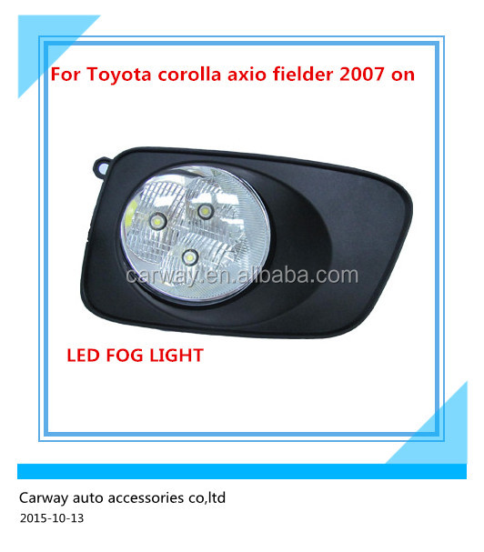 Auto lighting LED for Toyota Corolla Axio Fielder 2007 ON FOG LAMP