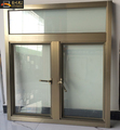 Burglar designs arch aluminum casement window