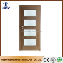 best price simple bedroom carving pvc hdf glass door panel designs interior solid wood pvc doors