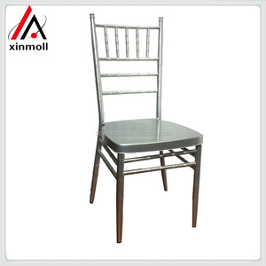 Hot Sell fashionable rental furniture iron bamboo chair